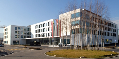 Endress+Hauser headoffice in Reinach, Switzerland