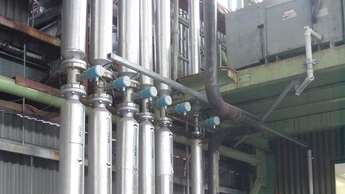 Vortex flowmeters: Measurement of steam